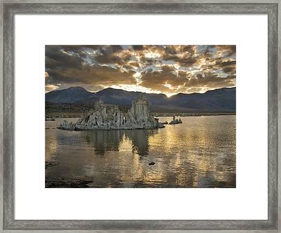Mono Lake Sunset 3 Framed Print