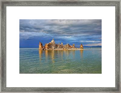 Mono Lake Tufa Framed Print