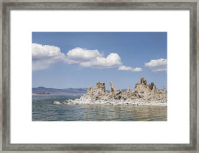 Mono Lake Tufa Towers Framed Print