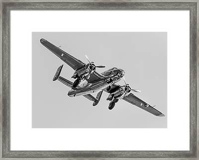 Mono Mitchell Framed Print