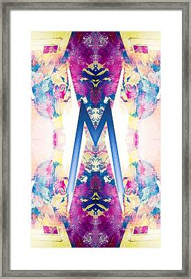 Monogram M - 0 - 8 Framed Print