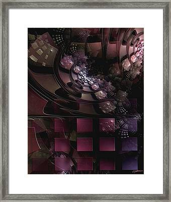 Monolith With Neighbor Framed Print by Casey Kotas