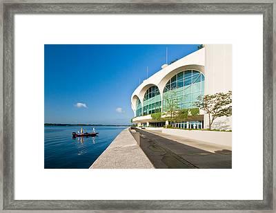 Monona Terrace Framed Print