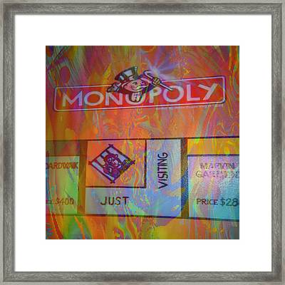 Monopoly Dream Framed Print