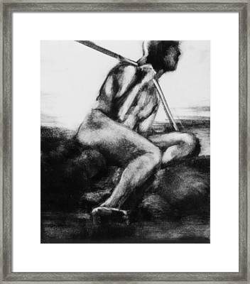 Monotype Series 32 Framed Print by John Clum