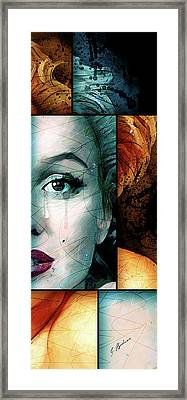 Monroe Panel B Framed Print by Gary Bodnar