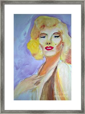 Monroe Framed Print