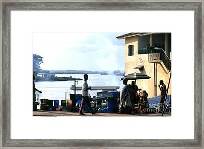Monrovia Liberia 1971 Framed Print