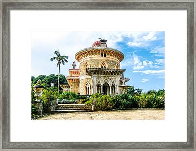 Framed Print featuring the photograph Monserrate Palace by Marion McCristall