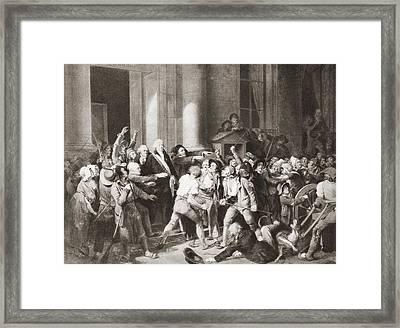 Monsieur Fontenay, Mayor Of Rouen Framed Print by Vintage Design Pics