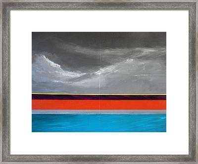 Monsoon Sky Framed Print