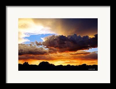 Monsoon Framed Prints