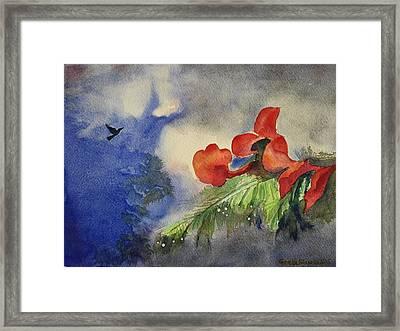 Monsoons  Framed Print