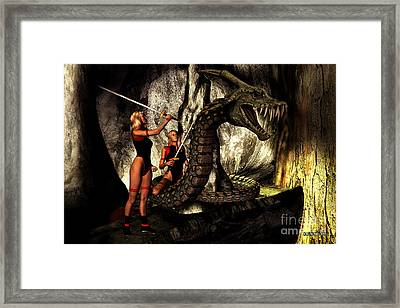 Monster Framed Print by Corey Ford