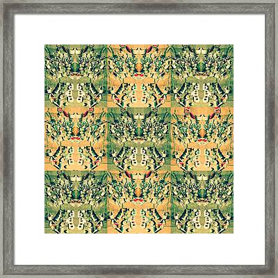 Monster From The Ocean Framed Print