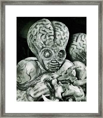 Monster From This Island Earth Framed Print