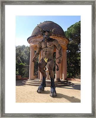 Monster Maze Framed Print by Joaquin Abella