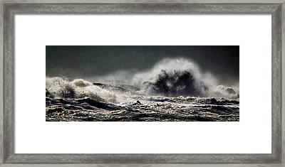 Monster Of The Seas Framed Print