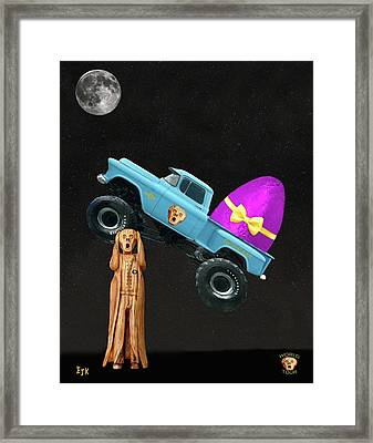Monster Truck Framed Print by Eric Kempson
