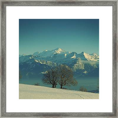 Mont Blanc Framed Print by Lionel Albino
