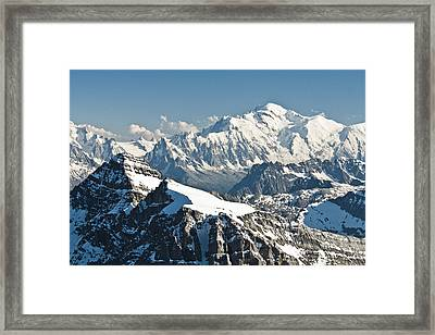 Mont-blanc Framed Print by N. Remond