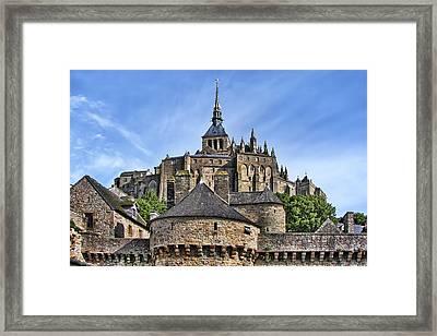 Mont Saint-michel - France Framed Print by Nikolyn McDonald