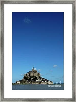 Mont Saint-michel In France Framed Print by Sami Sarkis