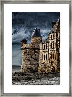 Mont Saint Michel Framed Print by John Karcher
