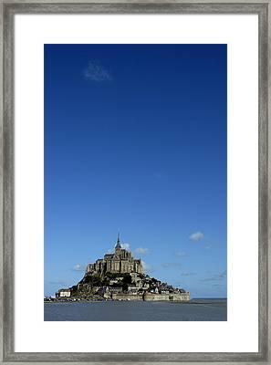 Mont Saint-michel Framed Print by Sami Sarkis