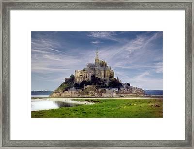 Mont St Michel Framed Print by Rod Jones
