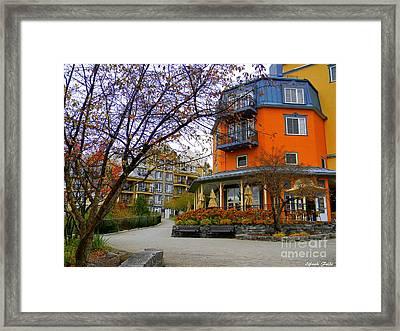 Mont Tremblant, Quebec, Canada Framed Print