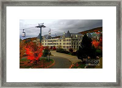 Mont Tremblant,quebec,canada Framed Print