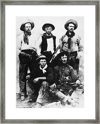 Montana Cowboys Framed Print by Granger