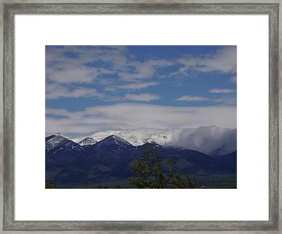 Montana June Framed Print by Yvette Pichette