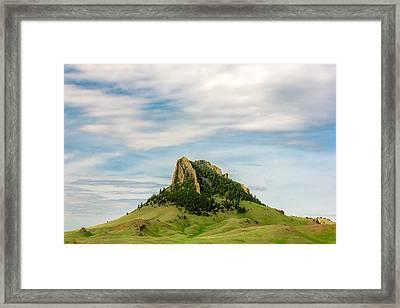 Montana Matterhorn Framed Print
