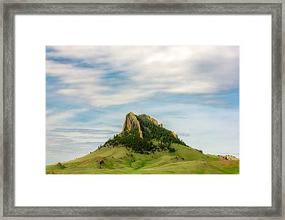 Montana Matterhorn Framed Print by Todd Klassy
