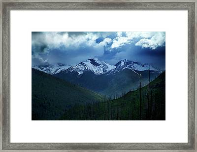 Montana Mountain Vista #2 Framed Print