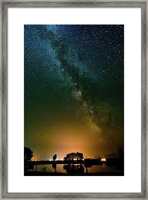 Montana Night Framed Print