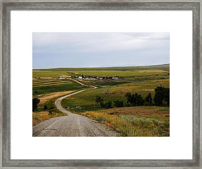Montana Ranch 3 Framed Print