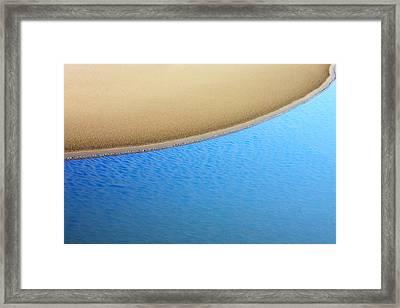 Montana Shoreline Framed Print