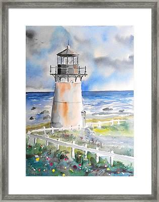 Montara Lighthouse Framed Print