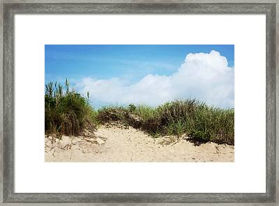 Montauk Coast New York Framed Print