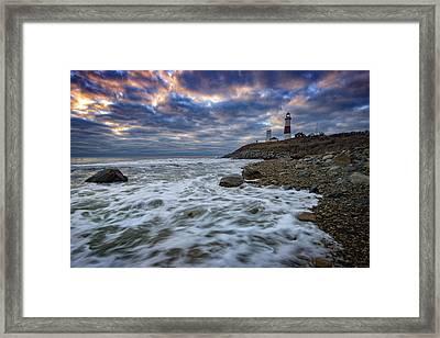 Montauk Morning Framed Print by Rick Berk