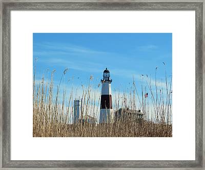 Montauk Point Lighthouse-3 Framed Print