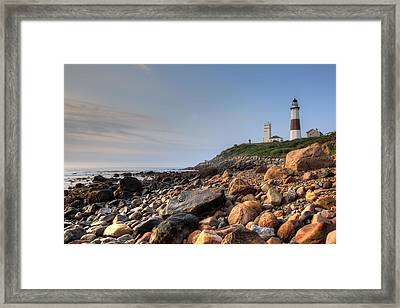Montauk Point Lighthouse Framed Print