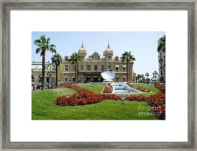 Monte Carlo Casino Framed Print