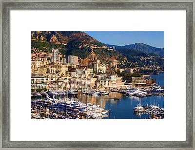Monte Carlo Framed Print by Tom Prendergast