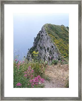 Monte Solaro Framed Print by Adam Schwartz