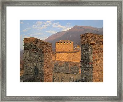 Montebello - Bellinzona, Switzerland Framed Print