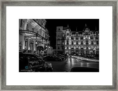Montecarlo Nights Framed Print by Cesare Bargiggia